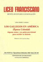 Los gallegos en América (Época Colonial)