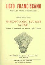 Episcopologio lucense (X-1990)