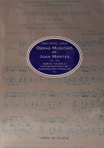 Obras musicais de Juan Montes Vol. III : obras vocais e instrumentais de inspiración popular (II)