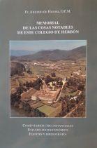 Memorial de las cosas notables de este Colegio de Herbón.