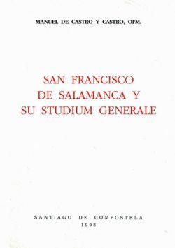 San Francisco de Salamanca y su Studium Generalae