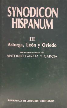 Synodicon Hispanum III : Astorga, León y Oviedo